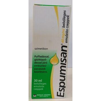 Espumisan 40mg/ml belsőleges emulziós cseppek 30 ml