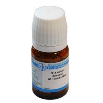 Schüssler-só Nr.4 kalium chloratum D6 80 db