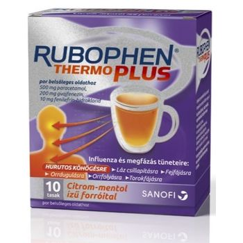 Rubophen ThermoPlus por belsőleges oldathoz 10 db