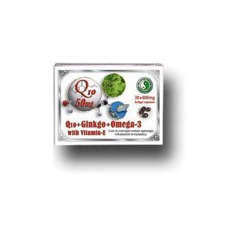 Q10 GINKGO OMEGA-3 KAPSZULA 30 db