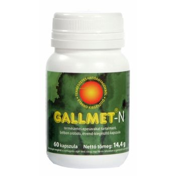 GALLMET®-N természetes epesavakat tartalmazó kapszula 60db