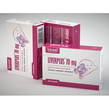 Bioeel Liverplus májműködéshez 80db/doboz, májvédő tabletta