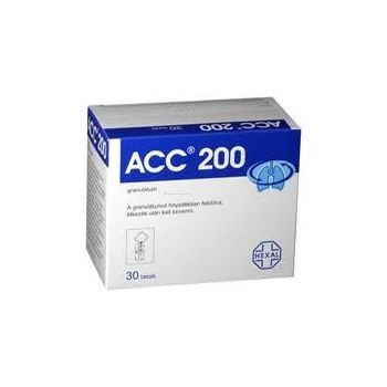 ACC 200mg granulátum 30 db