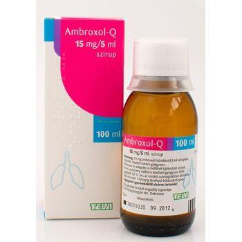 Ambroxol Teva 3mg/ml szirup gyermek 100 ml