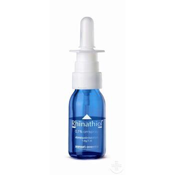 Rhinathiol 1 mg/ml oldatos orrspray 10 ml