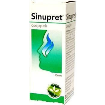 Sinupret belsőleges oldatos cseppek 100 ml
