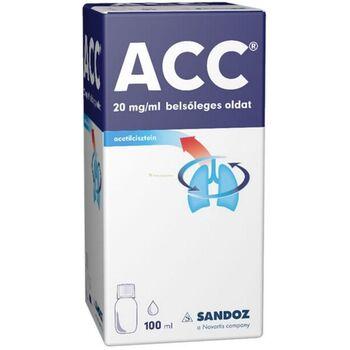 ACC 20mg/ml belsőleges oldat gyermek 100 ml