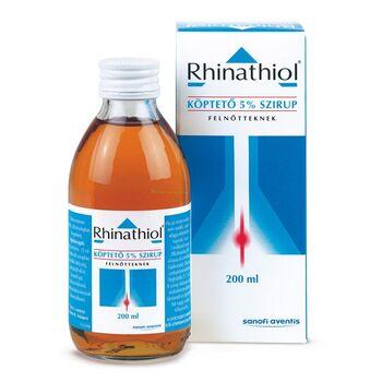 Rhinathiol köptető 50 mg/ml szirup felnőtteknek 200 ml
