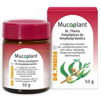 Mucoplant Dr. Theiss Eukaliptusz és fenyőolaj kenőcs 50 g