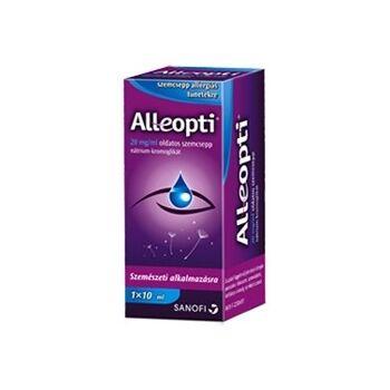 Alleopti 20 mg/ml oldatos szemcsepp 10 ml