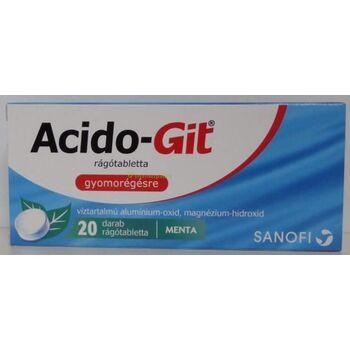 Acido-Git Maalox rágótabletta 20 db