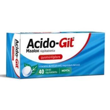 Acido-Git Maalox rágótabletta 40 db