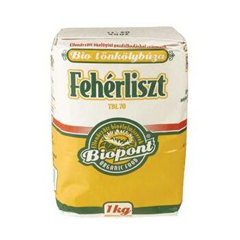 BIO FEHÉR TÖNKÖLYBÚZALISZT /BIOPONT/ 1000 g