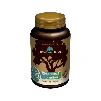 BIO RAINFOREST FOODS CHLORELLA&SPIRULINA TABLETTA 500MG 300db
