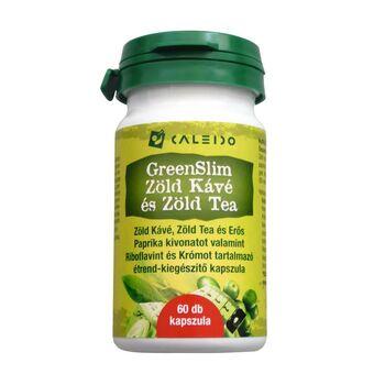 Caleido GreenSlim Zöld Kávé és Zöld Tea 550mg kapszula 60 db