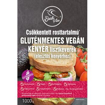 SZAFI FREE Csökkentett rosttartalmú gluténmentes vegán kenyér lisztkeverék 1000g