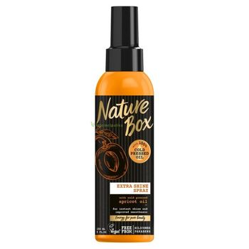 Nature Box Barack spray hajpakolás a fényes, puha hajért 150 ml