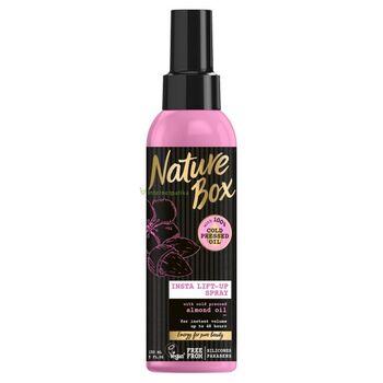 Nature Box Mandula spray hajpakolás a gyönyörű hullámokért 150 ml
