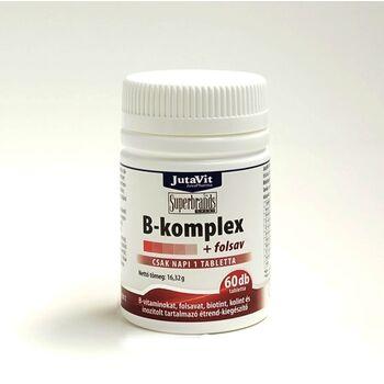 JutaVit  B-KOMPLEX+FOLSAV TABLETTA 60 db