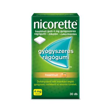 Nicorette freshfruit gum 4mg rágógumi 30 db