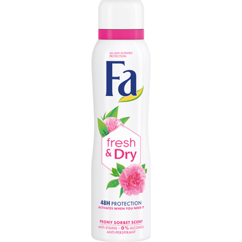 Fa izzadásgátló deospray Fresh & Dry Peony Sorbet scent