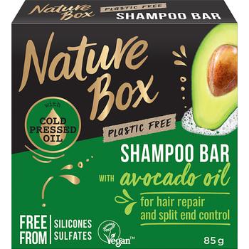 Nature Box szilárd sampon Avokádó a regenerált hajért