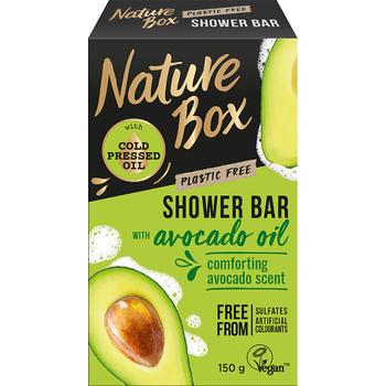 Nature Box szilárd tusfürdő Avokádó a táplált bőrért