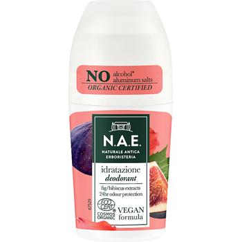 N.A.E. bio bőrkímélő golyós dezodor Idratazione bio füge és hibiszkusz kivonattal 50 ml