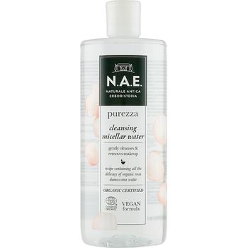 N.A.E. bio micellás víz Purezza bio damaszkuszi rózsavízzel 500 ml