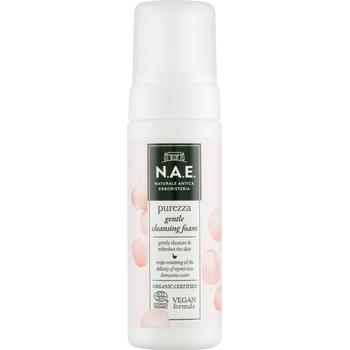 N.A.E. bio arctisztító hab Purezza bio damaszkuszi rózsavízzel 150 ml