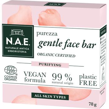 N.A.E. bio arctisztító szappan Purezza bio damaszkuszi rózsavízzel 78 g