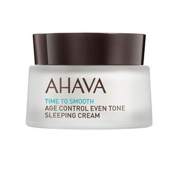 AHAVA Intenzív bőrmegújító és feszesítő éjszakai arckrém, 50 ml