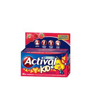 ACTIVAL KID RÁGOTABLETTA 80db