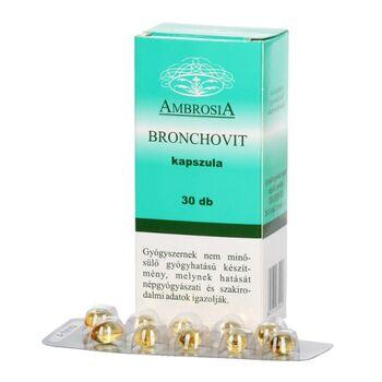 BRONCHOVIT KAPSZULA 30 db