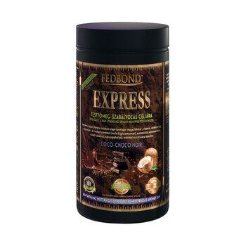 FEDBOND® EXPRESS COCO-CHOCO NOIR: étkezést helyettesítő, fehérje alapú, súlycsökkentő forró csoki turmixpor