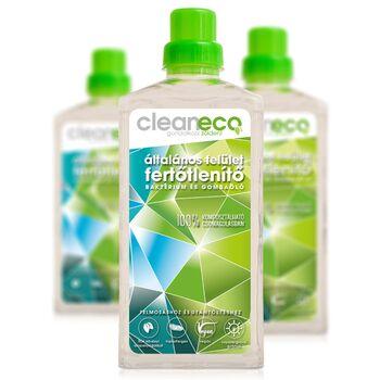 Cleaneco Általános Felület Fertőtlenítő - komposztálható csomagolásban 1000 ml