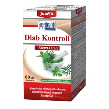 JUTAVIT DIAB KONTROLL TABLETTA 80db