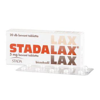 Stadalax 5 mg bevont tabletta 20 db