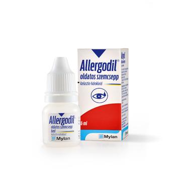 Allergodil oldatos szemcsepp 6 ml