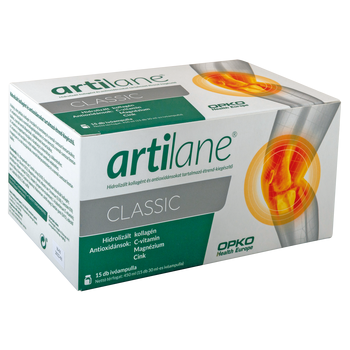 Artilane® Classic  Hidrolizált kollagént és antioxidánsokat tartalmazó étrend-kiegészítő 15db ampulla