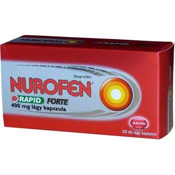 Nurofen Rapid Forte 400mg lágy kapszula 20 db