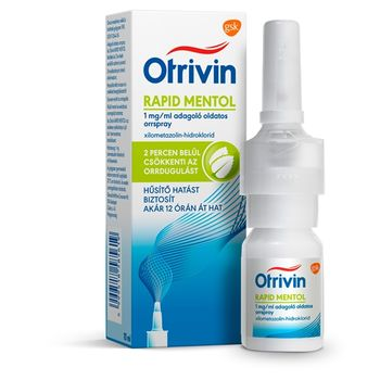 Otrivin Menthol 1 mg/ml adagoló oldatos orrspray 10 ml