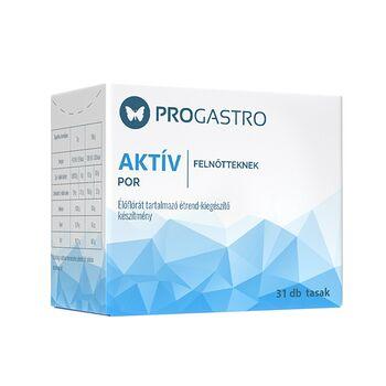 Progastro Aktív 13 éves kor felett és felnőtteknek, 31 db tasak