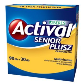 Actival Senior plusz filmtabletta 90+30 db