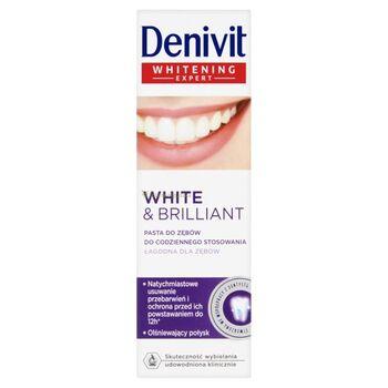 Denivit White & Brilliant Intense fogfehérítő fogkrém 50 ml