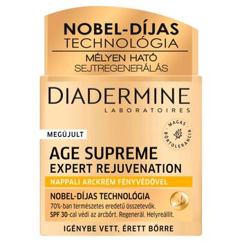 Diadermine Age Supreme Expert Rejuvenation nappali arckrém fényvédővel 50 ml