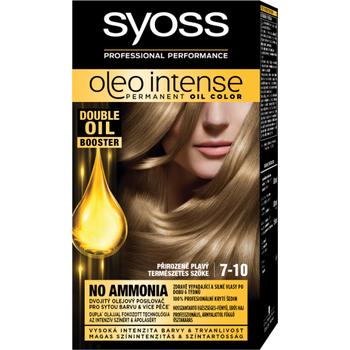 Syoss Color Oleo intenzív olaj hajfesték 7-10 természetes szőke