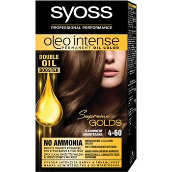 Syoss Color Oleo intenzív olaj hajfesték 4-60 aranybarna