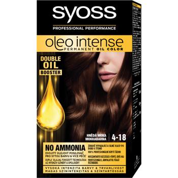Syoss Color Oleo intenzív olaj hajfesték 4-18 mokka barna