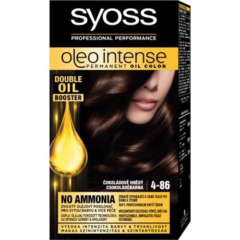 Syoss Color Oleo intenzív olaj hajfesték 4-86 csokoládé barna